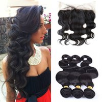 G- EASY Malaysian weave with bundles with lace frontal closur...