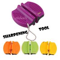 Mini Ev Mutfak Bıçak Seramik Karbür Adım Bıçak Kalemtıraş Camp Bileme Aracı Renk Rastgele ücretsiz kargo TY660