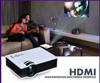 Mais novo original UCIC UC40 mini projetor portátil com usb hdmi para home theater beamer multimídia projetor proyector