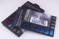 1000pcs Hot Sell Boxes de pacote colorido Caixa de embalagem do protetor de tela do telefone para embalagens de filme de vidro temperado