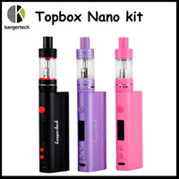 High Quality Kangertech Topbox Nano 60W TC Starter Kit Top F...