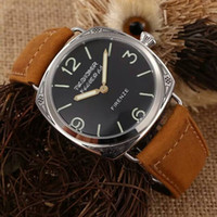 Wholesale- New men' s watch 604 FIRENZE Leather Strap carv...
