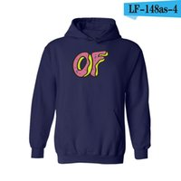 Vente en gros-2017 nouvelle mode hommes Odd future Hoodies planche à roulettes hommes Sweat Odd-future Shits Golf Wang Casual Pullover Coat