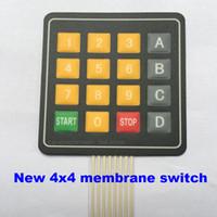 Nuevo 4x4 Membrana Interruptor de Teclado 16 Teclado MCU Arduino Fabricación de Teclado Externo
