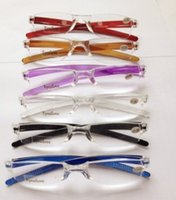 20pcs lot colorful Unbreakable transparent magnifier reading...