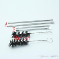 E cigarette stainless steel ecig dabber tool for herb vaporizer atomizer and Wax tool facotry price