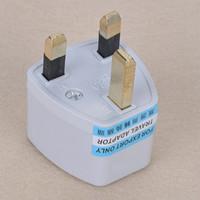 100 шт. / лот универсальный US / AU / EU to UK AC Power Plug путешествия адаптер Англия Великобритания Plug бесплатная доставка DHL FEDEX