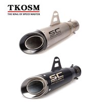 Laser Marking Motorcycle SC Exhaust Pipe Modified Exhaust Sc...