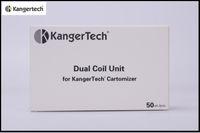 Authentic Kanger Dual Coil Upgraded Kanger Dual Coils för Kananger Protank 3 Mini Kanger Aerotank Mega Mini Aerotank Evod 2 Clearomizers
