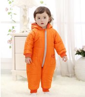 9- 24Months Baby Winter Clothes Girl Boy Romper Warm Russian ...