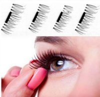 Magnetic Eye Lashes 3D False Magnet Eyelashes Extension 3D F...