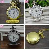 200pcs FASHION 3Colors Quartz watches Necklace Chain Bronze ...