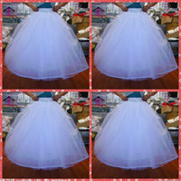 Cheapest In Stock 2015 Ball Gown No Hoops Crinoline Bridal O...