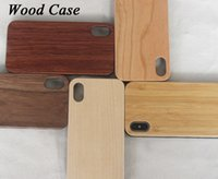Handmade Bamboo Case For Iphone X 8 7plus 6 6s plus Wood TPU Cases Wooden Cover For Samsung Note 8 S8 S7edge S6 Case Free DHL