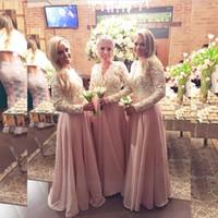 Rustic lace bridesmaid dresses