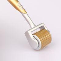 Теплая приветствованная польза салона titanium dermaroller zgts 192 ролика Meso игл для красотки с ручкой алюминиевого сплава