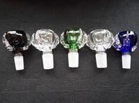 Ciotola di vetro artiglio grosso drago 14.4mm 18.8mm giunto maschio e femmina per bong di vetro tubi d'acqua DHL libero