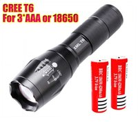 E17 CREE XM- L T6 3800Lumens cree led Torch Zoomable cree LED...