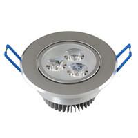 Toptan LED downlight tavan 3 W 5 W 7 W 9 W 15 W 18 W Aşağı ışık LED Tavan Downlight Dim LED kısılabilir Lambalar Sıcak Beyaz 110-240 V