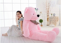 "Big Huge Giant 55 ""Peluche farcito Teddy Bear Toy Animal Doll rosa / regalo di compleanno"