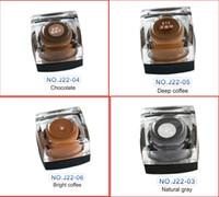 Permanent Maquillage Pâte 3D Manuel Sourcils Microblading Micropigments Encres de tatouage pour maquillage de beauté permanente Livraison gratuite