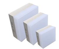 Kare LED Tavan Aşağı Lamba 6 W 12 W 18 W 24 W Yüzey Montaj Downlight Lamba 110 V 220 V Sıcak beyaz Soğuk beyaz Yatak Odası Oturma Odası Aydınlatma için