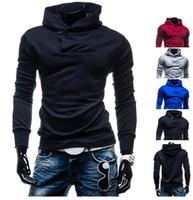 Последняя горячая мода мужские куртки мужская хеджирование свитер Assassin's Creed стиль с капюшоном свитер-Бесплатная доставка