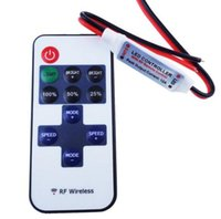 Led Controller 11key wireless DC5- 24V mini dimmer RF remote ...