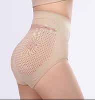 Seksi Kontrol Külot Vücut Şekillendirme kadın Spor pantolon Boyshort Uzak-kızılötesi manyetik terapi Külot Dikişsiz zayıflama iç çamaşırı