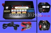 1500W Watts 3000W(peak) DC 12v to AC 220v Power Inverter+ Cha...