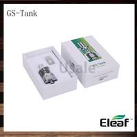 Ismoka Eleaf GS Tanque 3ml GS-Tanque Atomizador Com 0.15ohm GS Air TC Head Melhor Correspondência istick tc 40w 100% Original VS Starre Pro Aspire Triton