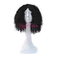 Bounce curly scomfort Micro ضفائر الباروكة الأفريقية الأمريكية مضفر الباروكات KINKY CURLY STYLE OMBRE GREY COLOR