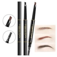 Professional Waterproof Double Head Makeup Automatic Eyebrow...