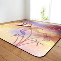 Living Room Carpet With Butterfly Drawing, Dinning Room Carp...