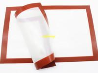 40 * 60 cm 30 * 40 cm 21x30cm Herramienta de horneado de la estera de silicona 42x29.5cm 29x26cm Mats de masa de horno Almohadilla de aislamiento de calor