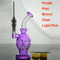 Water Bongs 9 inch Glass Faberge Egg Water Pipe Oil Rigs wit...