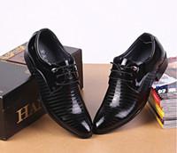 (san) 2015 новая коллекция весна осень мужская кожаная обувь острым носом лакированные туфли бизнес повседневная кожаная обувь зашнуровать оксфорды