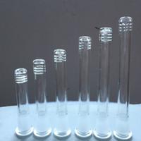 2016 Vetro Downstem fessura diffusore staminali filo Top Female Stem Diffusore Reducer 14.4-18.8mm per stelo tubi in vetro acqua Bong di Down