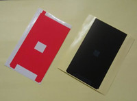 Lcd ekran siyah kapton bant antistatik anti-statik sticker şerit için iPhone 5G 5C 5 S