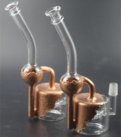 New desigh gold glass ash catcher for Glass water Pipes Ash ...
