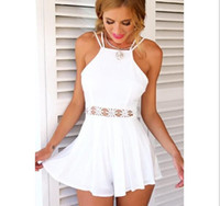 New Fashion Summer Playsuit Women' s Sexy Jumpsuit High ...
