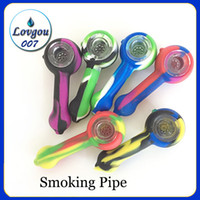 Smoking Pipe Silicone Cigarette Tubs 11x4. 5cm Portable Silic...