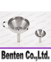 Hot 4 Inch 304 Stainless Steel Funnel With Detachable Strain...