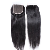 Malaysian Cheap Lace Closure Virgin Hair Weaves Closure Stra...