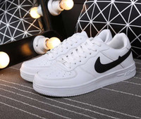 Hot sell Size 36- 44 2018 upgraded version New All White Shoe...