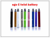 Hot selling Ego C twist 650mah 900mah 1100mah Battery for El...