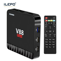 1PEICE !! 4GB 16GB V88 Piano KD 18.0 Android 7.1 TV Box Rockchip RK3328 Quad Core 4K Smart Media Player LAN WiFi Iptv S912 H96 t95Z MXQ Pro