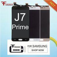 Samsung Galaxy için J7 Başbakan G610F G610K G610L G610S G610Y LCD Ekran Dokunmatik Ekran Digitizer Meclisi Yedek Parçalar