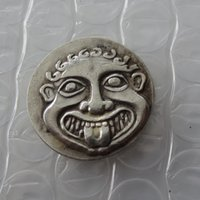 G (21) Moneda de plata griega, THRACE AR Tetradrachm gorgona. copiar monedas
