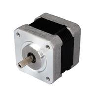 42HS03 Novo Leadshine 2 fases do motor de passo híbrido NEMA 17 tamanho 8 motor leads / Corrente / fase 1.0A / Holding Torque 0.34N CNC Motor
